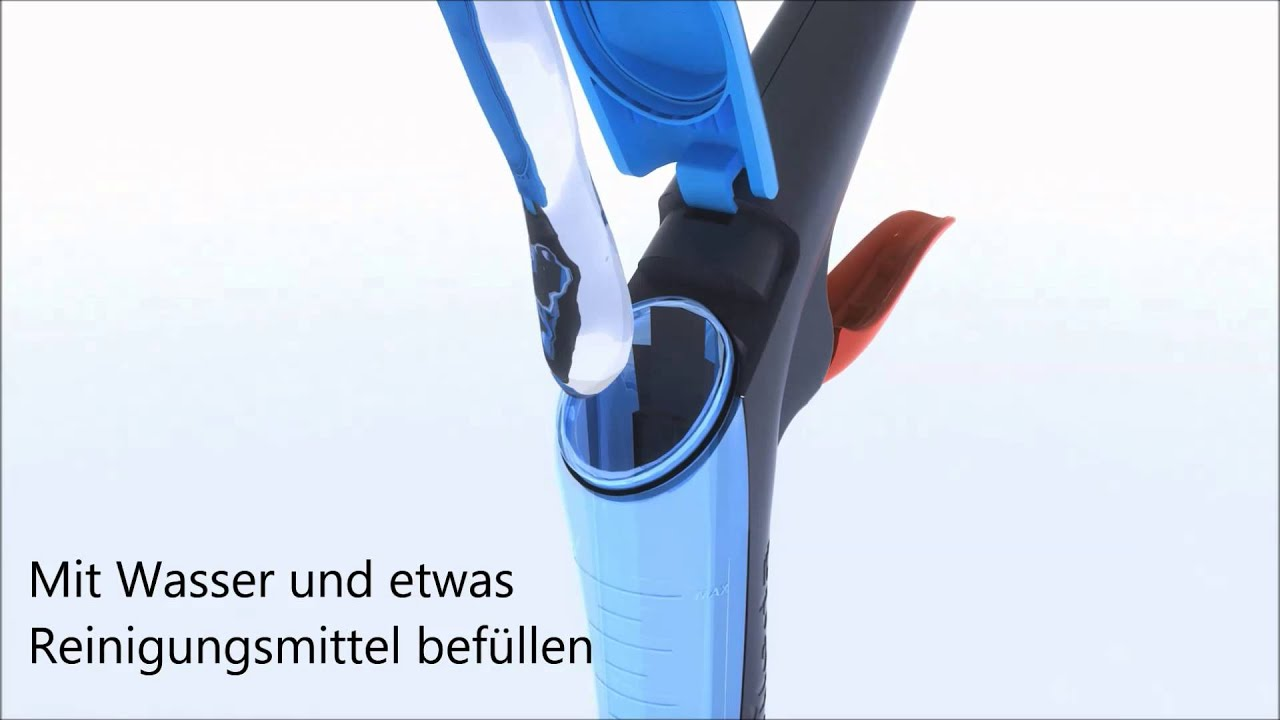 Vileda 1 2 Spray Bodenwischer System Youtube