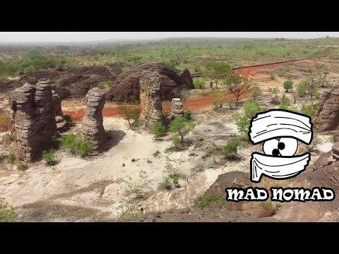 Burkina Faso motorcycle trip - mad nomad