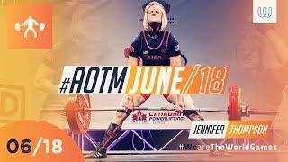 Jennifer Thompson - The World Games Athlete of June 2018