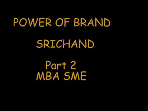 Power Of Brands MBA SME Bangkok University 2/3
