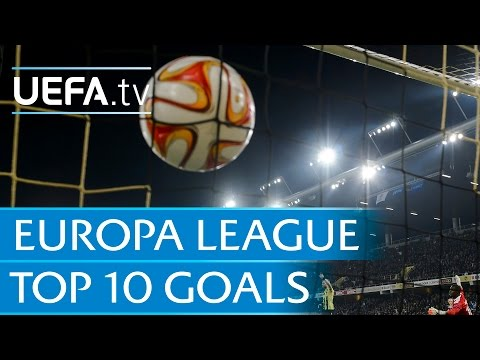 Top 10 UEFA Europa League goals of 2014/15