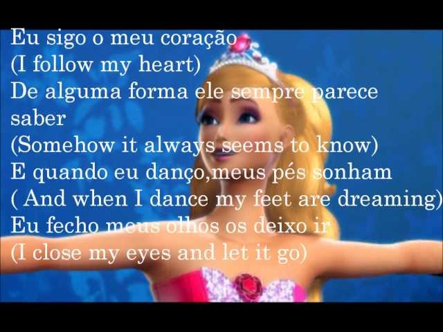 Barbie In The Pink Shoes(Barbie e as Sapatilhas Mágicas) - Keep On Dancing(Tradução) Vídeos De Viagens