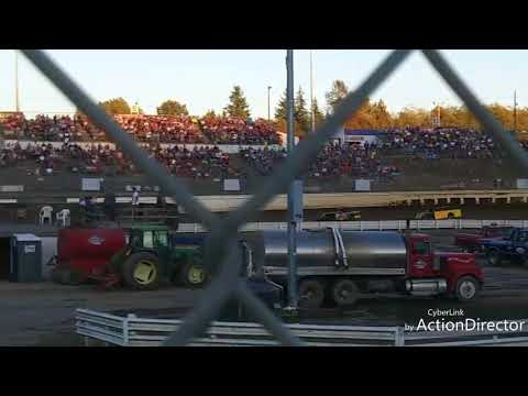 Mel Decker Racing 9/2/17 Skagit Speedway WOO Modified Heat #1