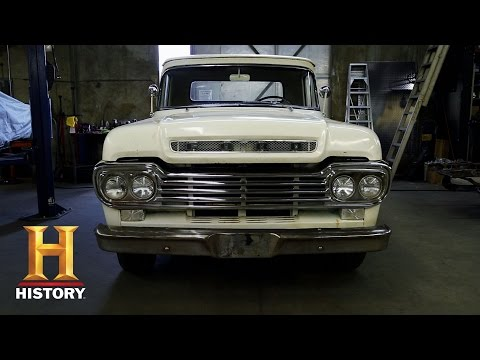 American Restoration: Bodie's '59 Ford F100   History
