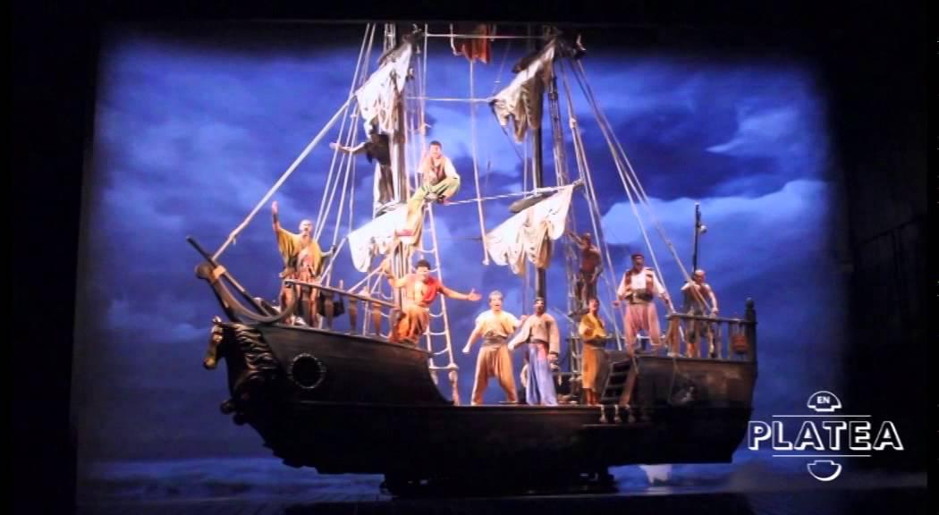 lhimne dels pirates mar i cel teatre vict242ria de
