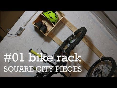 Building a bike rack with storage #01