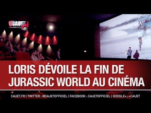 Loris dévoile la fin de Jurassic World au cinéma - C'Cauet sur NRJ