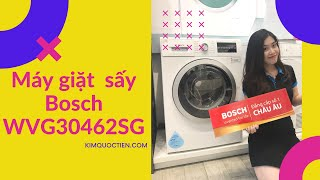 KIMQUOCTIEN.COM I Máy giặt kết hợp sấy Bosch WVG30462SG cao cấp