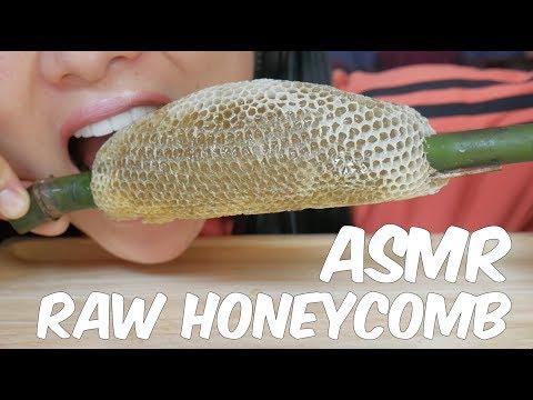 ASMR RAW HONEYCOMB (EATING SOUNDS) | SAS-ASMR Part 4