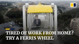 Japanese theme park opens Ferris wheel for remote workers during coronavirus pandemic