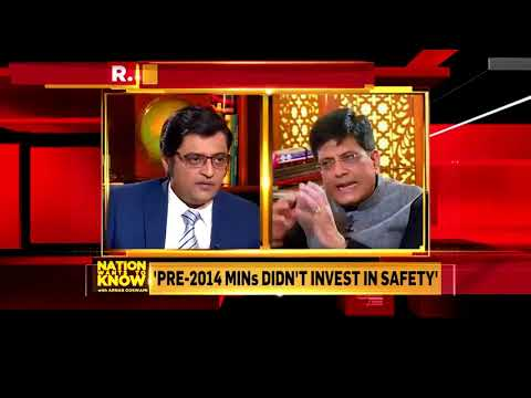 Speaking on Republic TV with Arnab Goswami
