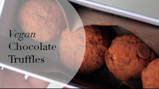 How To Make Vegan Truffles