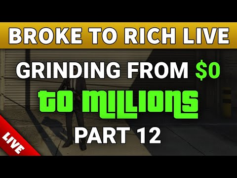From ZERO to MILLIONS   Live GRINDING CASINO HEISTS + Sell Businesses To MAKE MONEY FAST (PART 12)