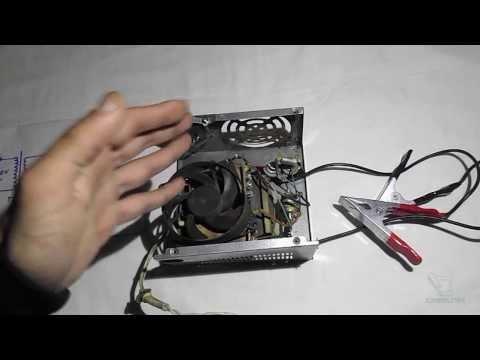Самое простое зарядное устройство для АКБ
