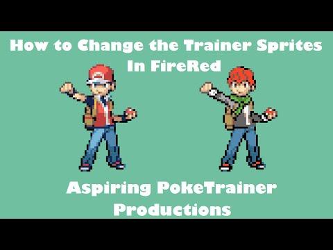 Change Trainer Sprites, And Backsprite Of Protagonist   Tutorial Pokemon Rom Hack