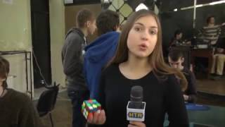 Змагання зі складання кубика Рубика у Львові
