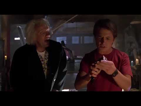 """Time Travel Explained! (Clip From The Movie""""Back To The Future"""")"""