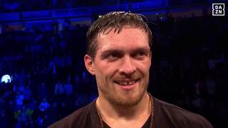 Alexander Usyk Post-Fight Interview
