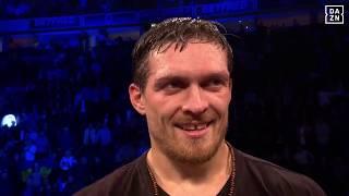 Alexander Usyk Post-Fight Interview