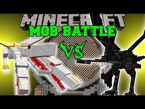 THE KING VS NIGHTMARE - Minecraft Mob Battles - OreSpawn Mod Strongest Bosses