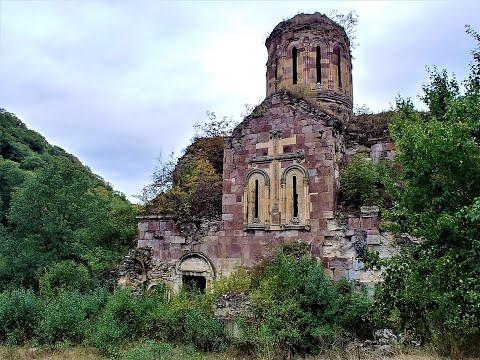 Хучапиванк - армянский монастырь в 50 метрах от Грузии