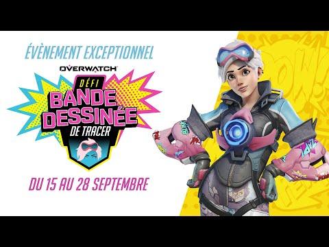 Défi Bande Dessinée De Tracer (VF) | Overwatch FR