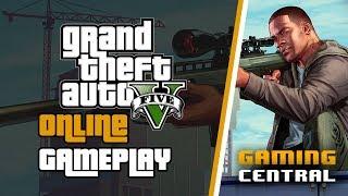 GTA V Online Heists Gameplay | Livestream | Gaming Central