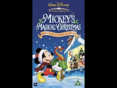 digitized opening to mickeys magical christmas vhs uk - Mickey Magical Christmas