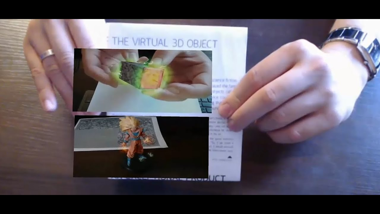Augmented Reality Tutorial Using Unity3D and Vuforia for