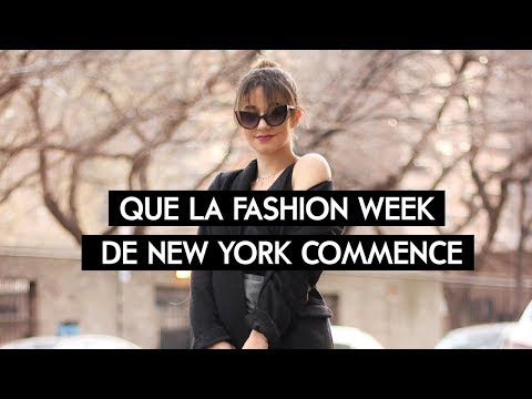 LA FASHION WEEK NEW YORKAISE COMMENCE ||Léna Situations