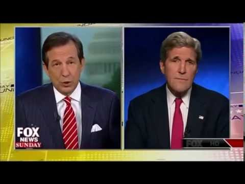 Fox News Catches John Kerry on Open Mic Discussing Escalation of Israel's Military Offensive