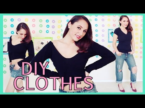 DIY Clothes! Revamp Old Clothes To New | RoRo