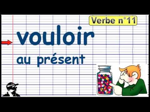 Conjuguer Le Verbe Vouloir Au Present 2019 Youtube