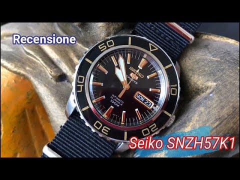 Seiko 5 automatico SNZH57K1 - Recensione -