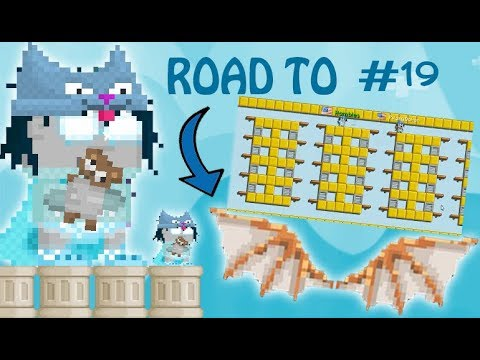 Growtopia - ROAD TO DA VINCI WING! Episode #19 - BEST STORAG