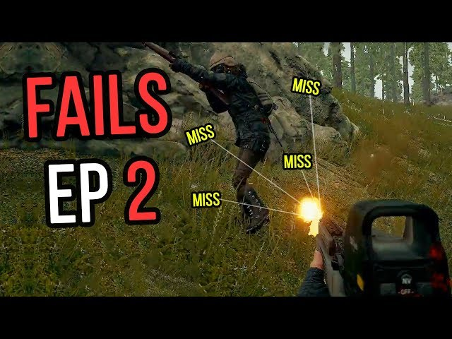PUBG: Fails & Unlucky Moments Ep. 2