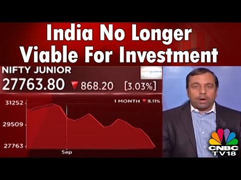 Ajay Srivastava: India No Longer Viable For Investment | CNBC Tv18