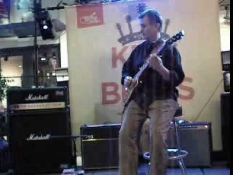 Guitar Center King of Blues 2009 Salt Lake City Store Winner Kory Neider