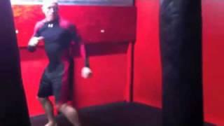 Joe Rogan teaches GSP the turning side kick
