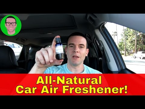 The Best All-Natural Air Freshener For Your Car!