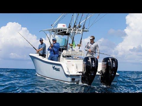 MAKO Boats: 234 CC Offshore Fishing Boat