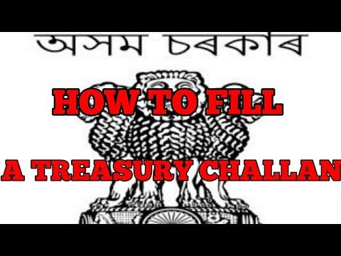 Challan form odisha treasury pdf