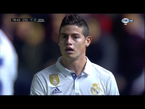 James Rodriguez vs Osasuna Away HD (11/02/2017) by JamesR10™