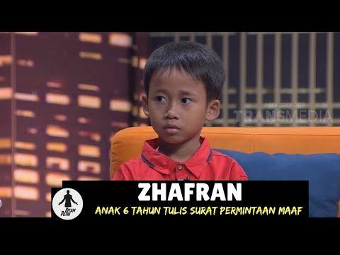 ZHAFRAN TULIS SURAT PERMINTAAN MAAF | HITAM PUTIH (18/01/18) 3-4