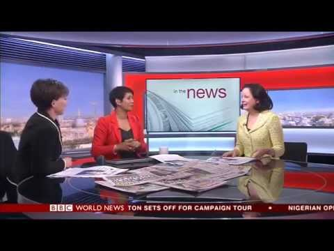 CJHM On The BBC' World's Newspaper Review (13/04/2015)