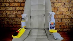 How To Easily Clean Car Leather & Vinyl Seats Like A Pro
