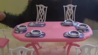 Обзор Столовой для Кукол/Overview Table for Dolls