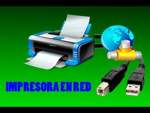 Poner en red impresora de puerto USB para que impriman todas las computadoras a ella sin cable