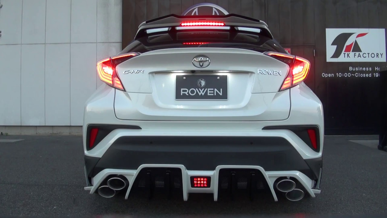 Toyota C Hr(1 2tb)exhaust Sound By Rowen Japan Youtube