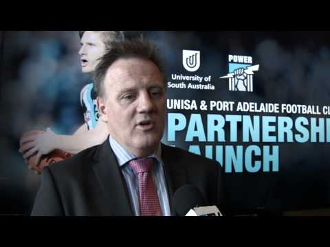 Port Adelaide Football Club and The University of South Australia